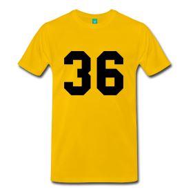 Wu-Tang Clan - 36 Chambers T-Shirt Front Yellow