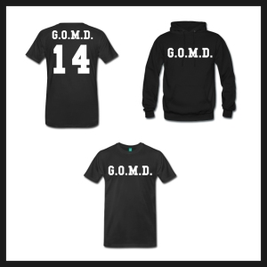 J.Cole G.O.M.D. T-Shirt and Hoodie