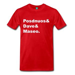 De La Soul Lineup T-Shirt