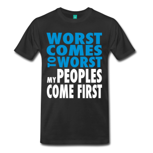 Dilated Peoples - Worst Comes To Worst T-Shirt - Black