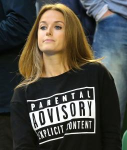Kim Sears Parental Advisory Explicit Content Sweatshirt